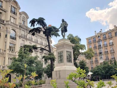 Recorriendo los lugares de Cervantes en Madrid
