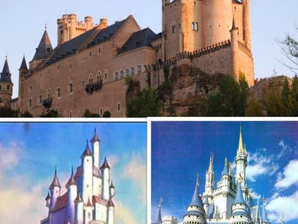 El Alcázar de Segovia y las princesas de Disney
