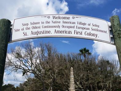 La verdad del primer Thanksgiving, 56 años antes, español y en Florida: regresamos a St. Agustine