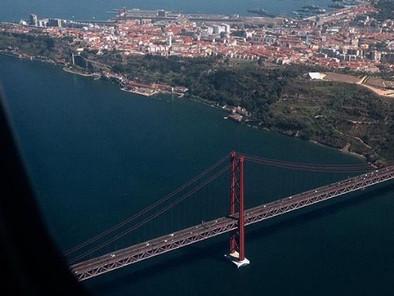 Llegando a Lisboa
