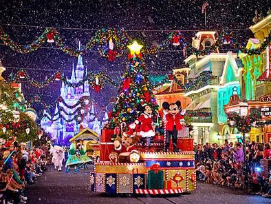Una feliz navidad en Walt Disney World Orlando