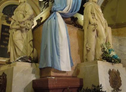 Honores al Gral. San Martín