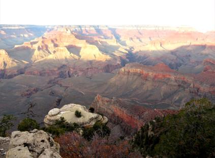 El primer turista que admiró el Gran Cañón