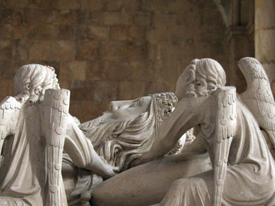 D. Pedro I de Portugal, esperando volver a ver a su amada Dña. Inés