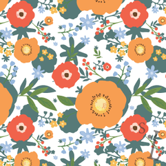 Layered Floral Pattern