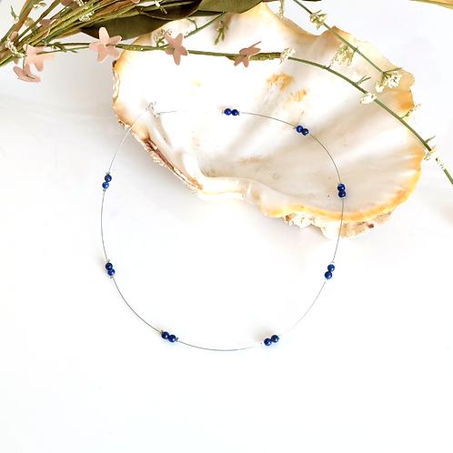 Collier fin en Lapis-Lazuli