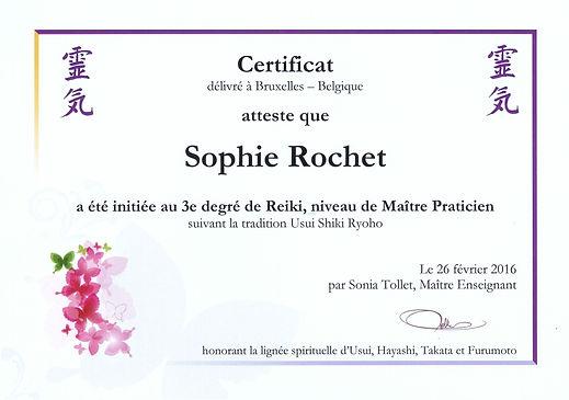Certificat 3e degré