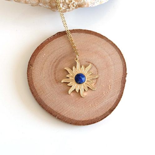 Collier fin Lapis-Lazuli