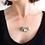 Thumbnail: Collier perles vertes
