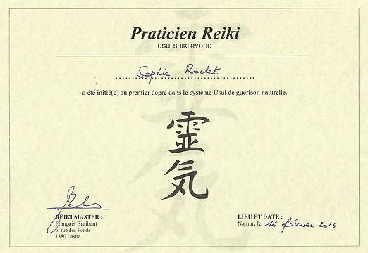 Certificat 1er degre