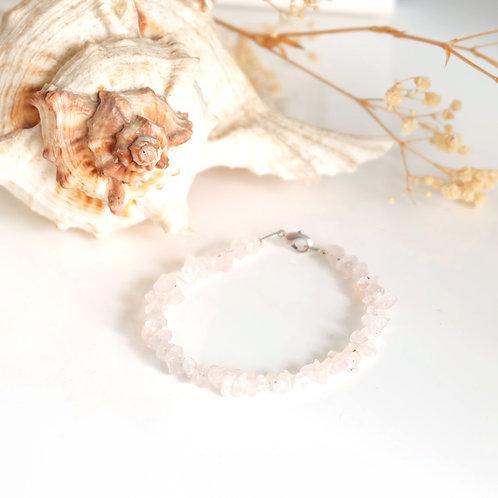 Bracelet de pierres roses