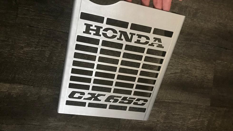 Honda CX650 Logo Grate