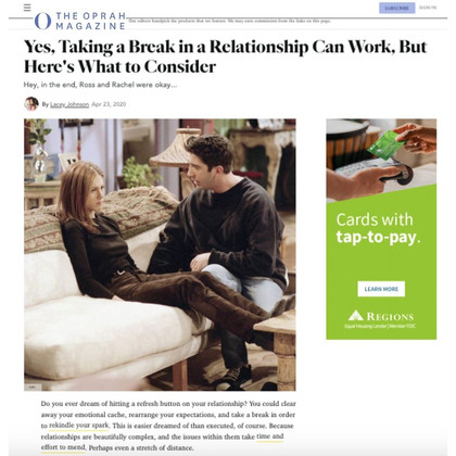 O, The Oprah Magazine | Relationships