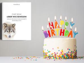Happy Birthday, liebes Buch!