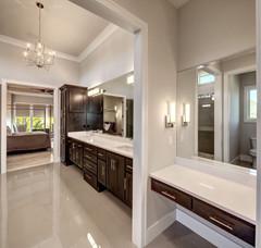 Vanity & Bathroom