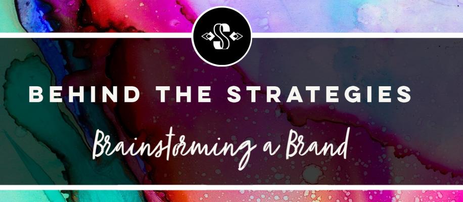 Brainstorming a Brand