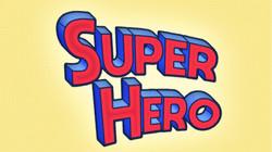 Retro SuperHero Text