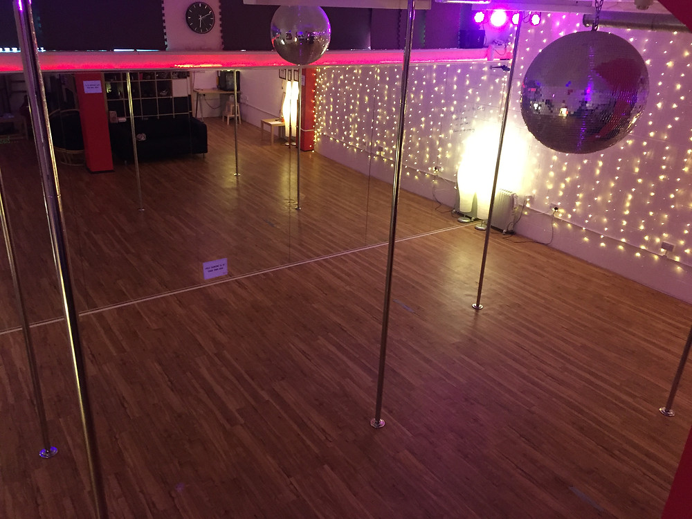 360 Pole Dancing Studio from above