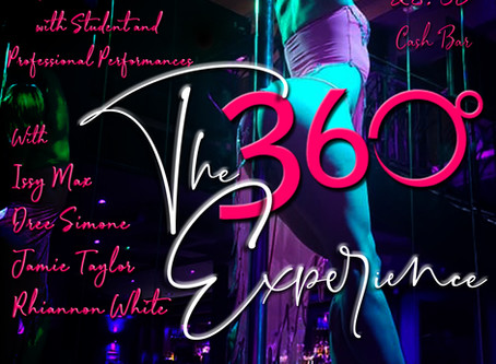 """""""The 360 Experience"""" Student Show 11th May 2019"""