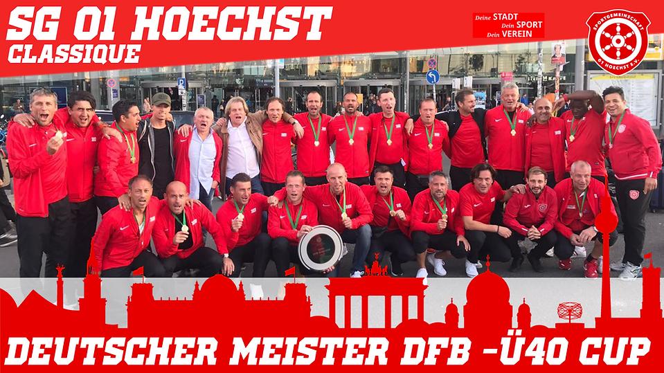 SG 01 Hoechst -DEUTSCHER MEISTER