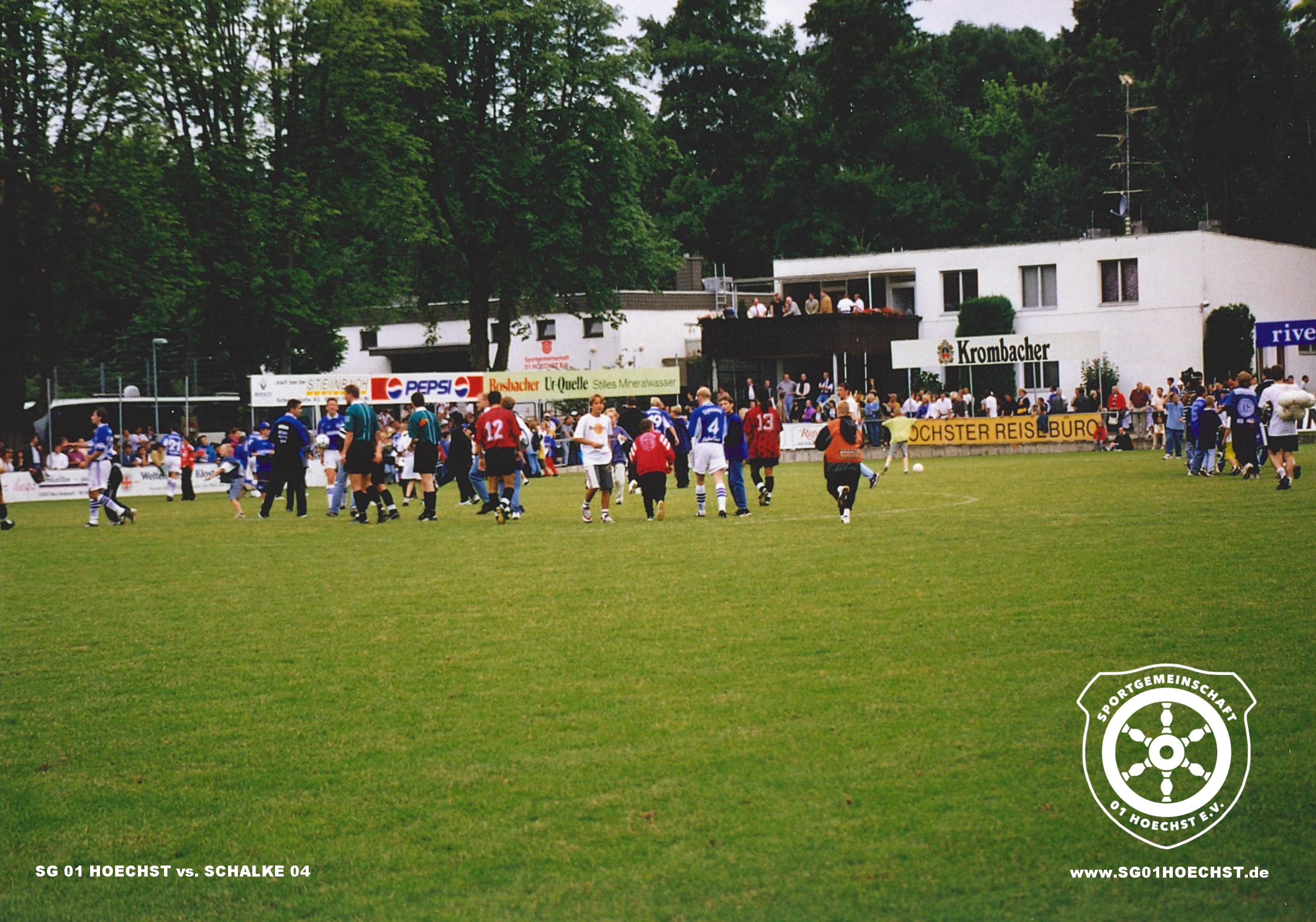 SG 01 HOECHST gegen FC SCHALKE 04