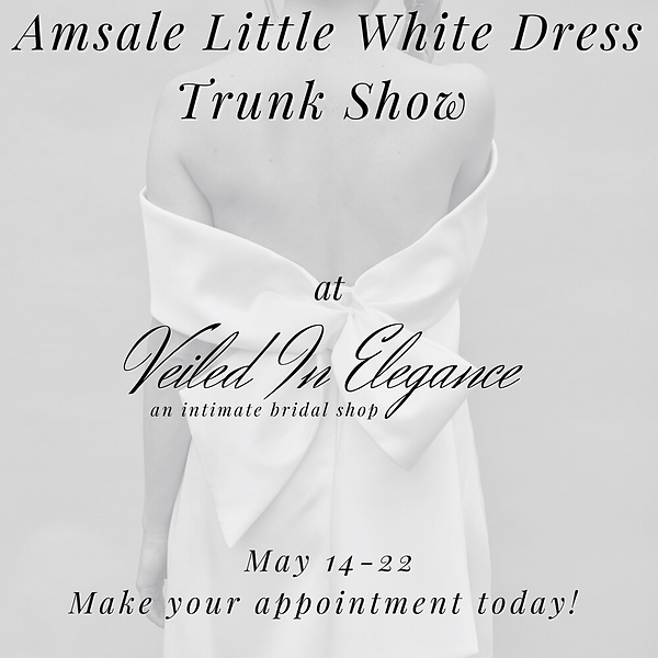 Amsale Little White Dress Trunk Show at