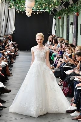 sparkling ballgown, feminine wedding dress