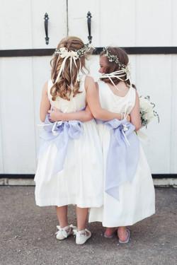 real flower girls