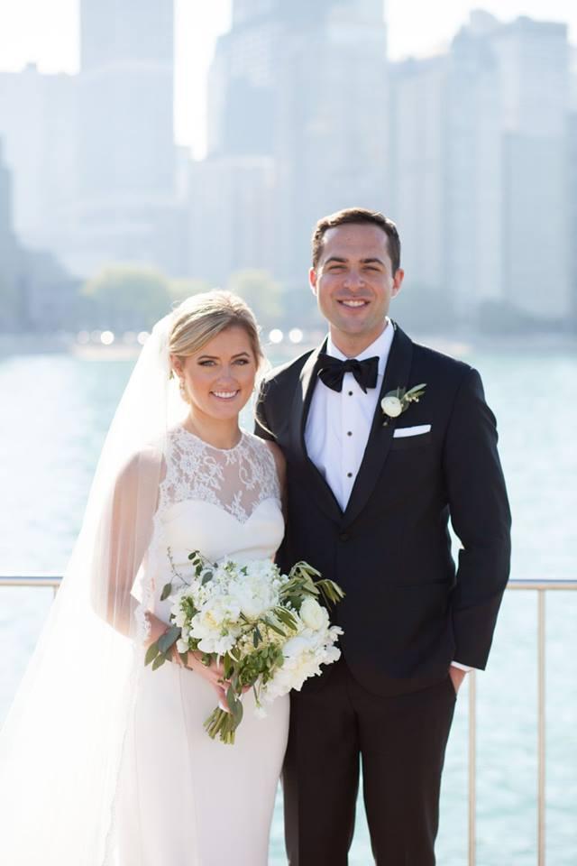 real bride Caitlin