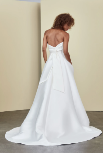 Strapless A-Line With Pockets 2