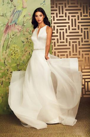 Detachable Train Wedding Dress