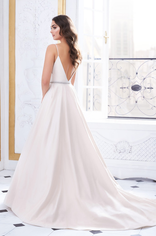 Silk Dupioni A-Line Wedding Dress