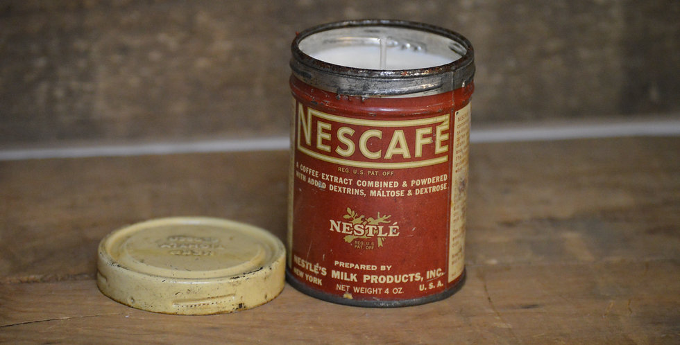 Nescafe Milk Tin