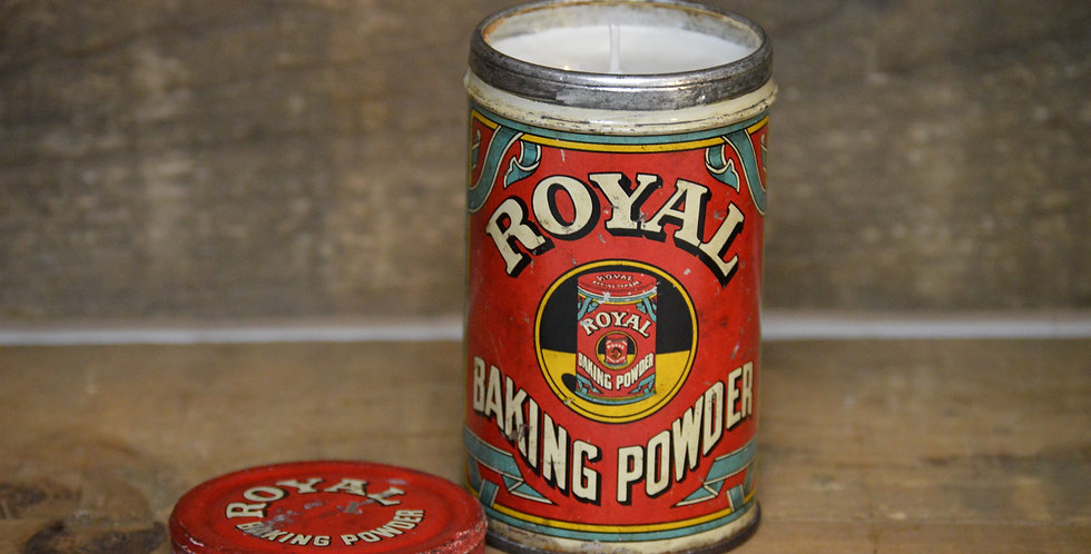 Royal Baking Powder Tin