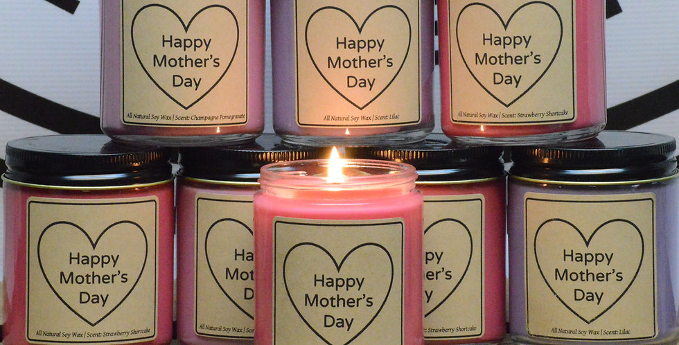 Mother's Day Candle