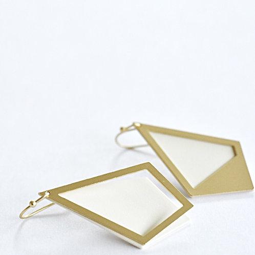 Hangers ruit GOLD WHITE