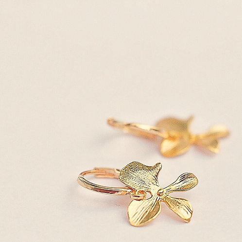 Mini oorringen FLOWER