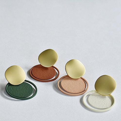 Stekers GOUD - CIRCLES - meerdere kleuren !