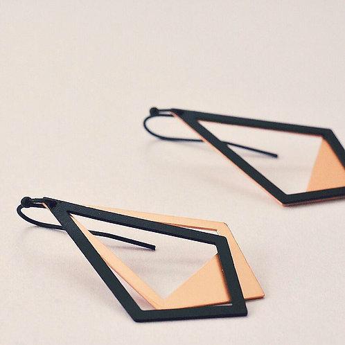 Hangers ruit BLACK + ROSEGOLD
