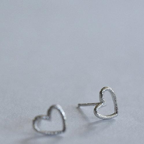 Stekertjes Sterling zilver HEART