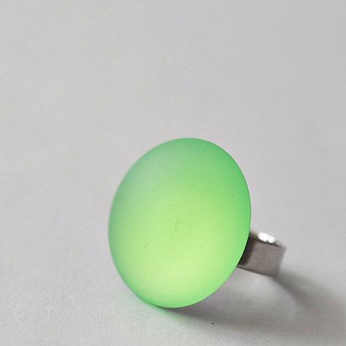 Verstelbare ring LICHTGROEN