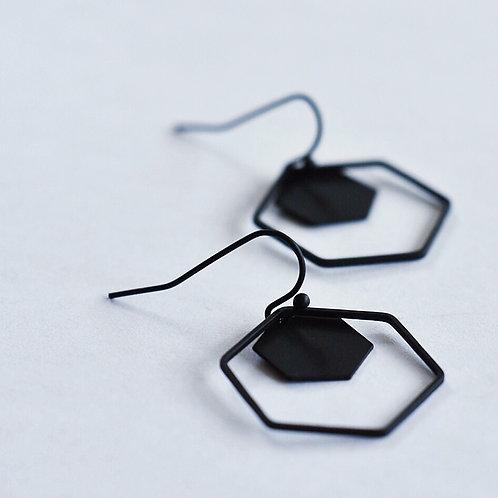 Hangers grote en kleine zeshoek