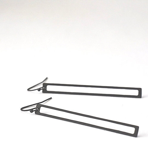 Hangers open rechthoek BLACK