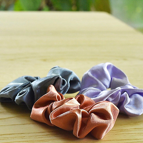 Scrunchie SATIN-LOOK