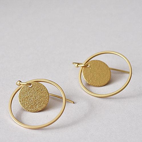 Hangers CIRCLES mat goud