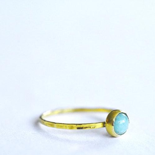 Ring met edelsteen turquoise