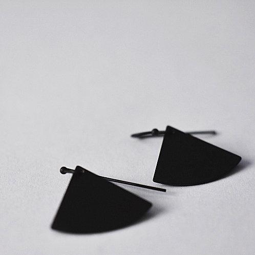 Hangers waaiertje BLACK