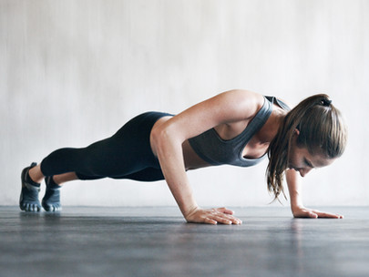 How to Do Push Up's if You Can't Yet