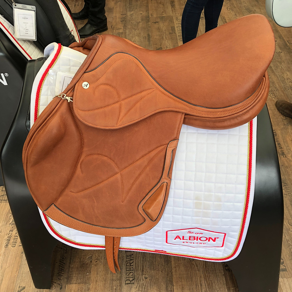 Albion England's new jumping saddle