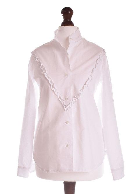 Size 6 - The Oxney Shirt - White